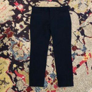 Petite navy pants